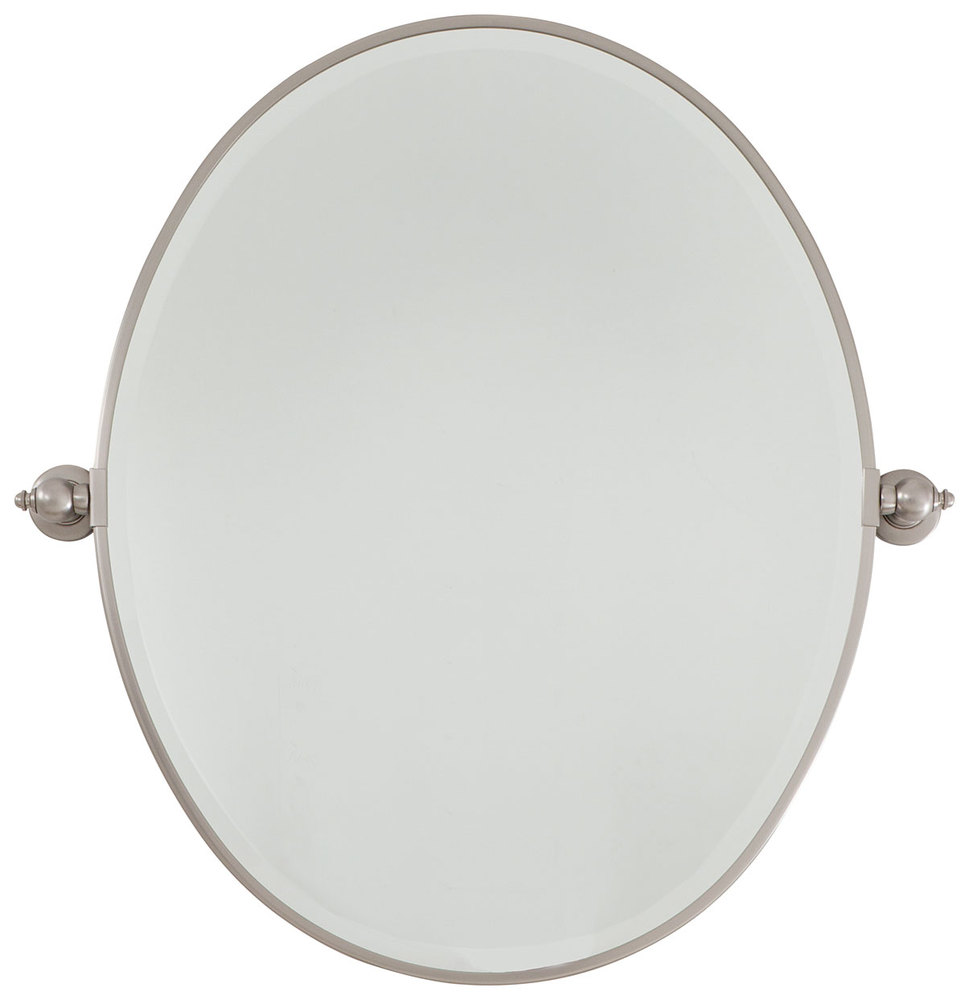 Oval Mirror - Beveled