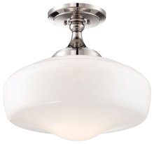 Minka-Lavery 2259-613 - 1 Light Semi Flush Mount