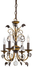 Minka-Lavery 3127-126 - 4 Light Mini Chandelier