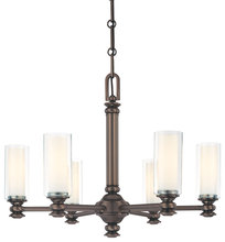 Minka-Lavery 4366-281 - 6 Light Chandelier