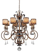 Minka-Lavery 4756-206 - 8 Light Chandelier