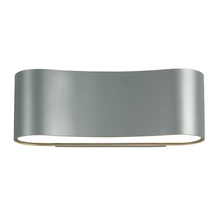 Sonneman 1726.04 - Two Light Silver Wall Light