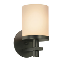 Sonneman 4260.32 - One Light Black Wall Light