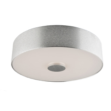 Artcraft AC7241BA - Fantasia 1 Light AC7241BA Brushed Aluminum  Flush Mount