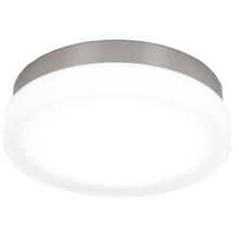 WAC US FM-4111-27-BN - SLICE 11IN ROUND FLUSH MOUNT 2700K