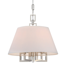 Crystorama 2255-PN - Libby Langdon for Crystorama Westwood 5 Lt Polished Nickel Mini Chandelier