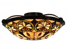 Dale Tiffany STH15009 - Mccartney Flush Mount