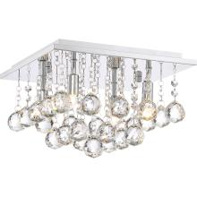 Quoizel BRX1611C - Bordeaux With Clear Crystal Flush Mount
