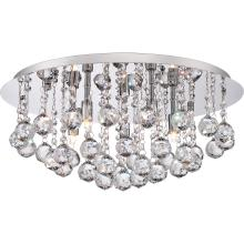 Quoizel BRX1619C - Bordeaux With Clear Crystal Flush Mount