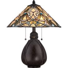 Quoizel TF1846TIB - Tiffany Table Lamp