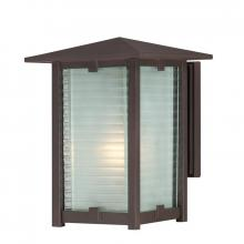 Quoizel CYP8408WT - One Light Western Bronze Wall Lantern