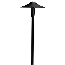 Kichler Landscape 15810BKT - LED Dome Path Light