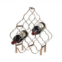 Sterling Industries 3138-233 - Quatrefoil Wine Rack