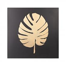 Sterling Industries 351-10203 - Metallic Palm Frond On Black