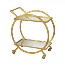 Sterling Industries 351-10212 - Ring Bar Cart