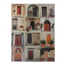 Sterling Industries 51-10125 - Door Collage Photography Printed On Glass