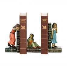 Sterling Industries 91-2448 - Child Games Bookends - Pair