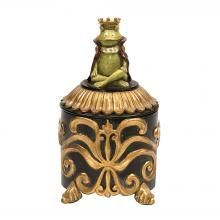 Sterling Industries 91-2565 - Prince Frog Vanity Box