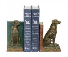 Sterling Industries 91-2629 - Chocolate Lab Bookends - Pair