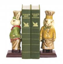 Sterling Industries 91-2799 - Chef Bunny Bookends - Pair
