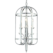 Eurofase Online 20316-013 - Senze 6-Light Lantern, Chrome Finish