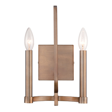 Eurofase Online 28056-010 - Cantu 2-Light Wall Sconce, Satin Gold Finish