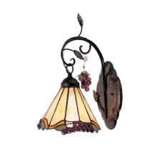 ELK Lighting 037-IA - One Light Antique Iron Wall Light