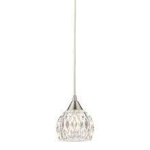 ELK Lighting 10342/1 - Kersey 1 Light Pendant In Satin Nickel