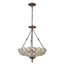 ELK Lighting 12024/5 - Christina 5 Light Pendant In Mocha And Filigree