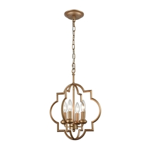 ELK Lighting 31826/4 - Chandette 4 Light Chandelier In Matte Gold
