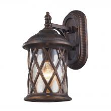 ELK Lighting 42035/1 - Barrington Gate 1 Light Outdoor Sconce In Hazlen