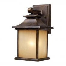 ELK Lighting 42180/1 - San Gabriel 1 Light Outdoor Sconce In Hazelnut B