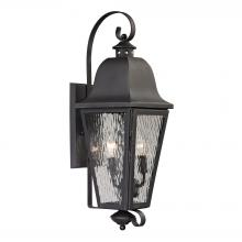 ELK Lighting 47101/2 - Forged Brookridge 2 Light Outdoor Sconce In Char