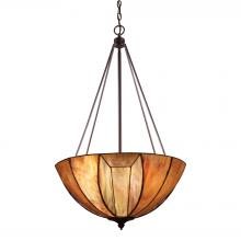 ELK Lighting 70048-4 - Dimensions 4 Light Pendant In Burnished Copper A