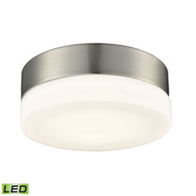 ELK Lighting FML4025-10-16M - Holmby 1 Light Round Flushmount In Satin Nickel